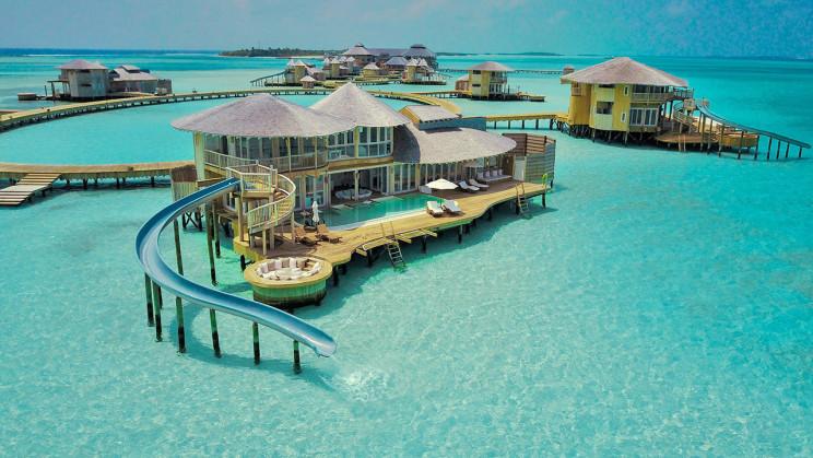 In vendita una magnifica villa sulle acque cristalline delle Maldive